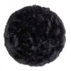 Monochrome Sheepskin Round Rug