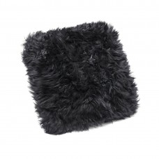 Monochrome Sheepskin Cushion