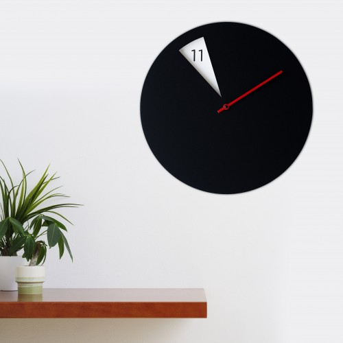 Freakish Cut Out Clock - Coloured Hands