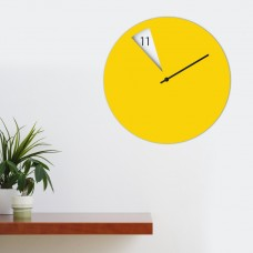 Freakish Cut Out Wall Clock - Coloured Face