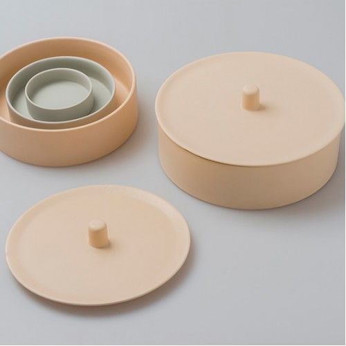 Nested Round Condiments - Set of 4