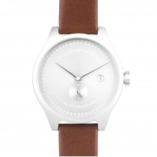 Brown and White Aluminium Watch - SQ31