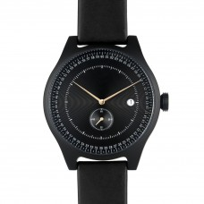 Black Aluminium Watch - SQ31