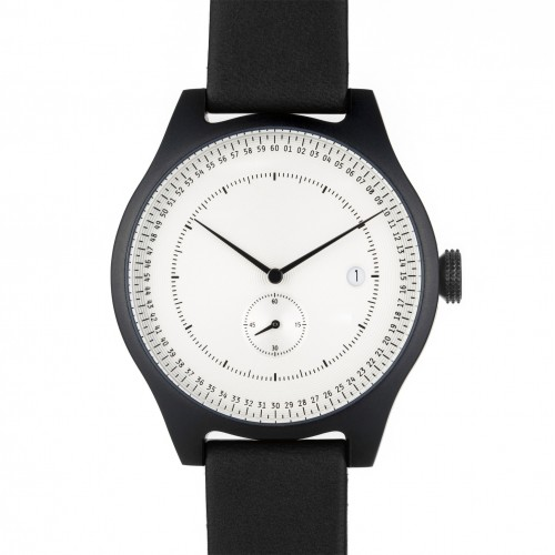 Black and White Aluminium Watch - SQ31