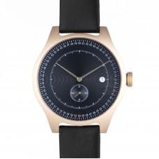 Black and Gold Aluminium Watch - SQ31
