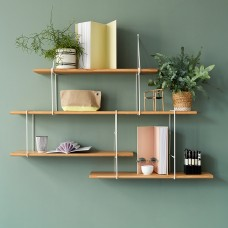 Link Shelving - Oak