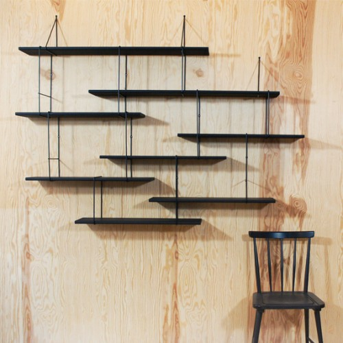 Link Shelving - True Black