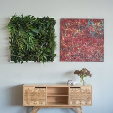 Jungle Plant Frame 80 x 80