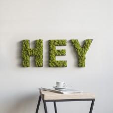 Moss Lettering