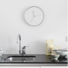 Thin Wall Clock Aluminium