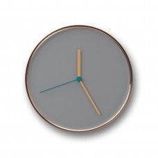 Thin Wall Clock Copper