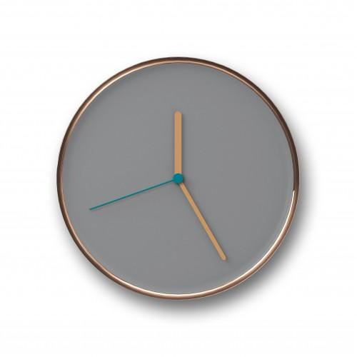 Thin Wall Clock Copper