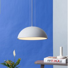 Globus 410 Concrete Dome Pendant Light