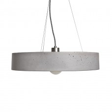 Rota Concrete Circular Pendant Light