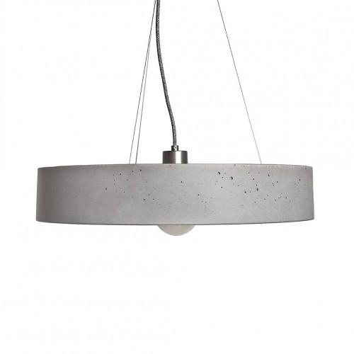 Rota Concrete Circular Pendant Light