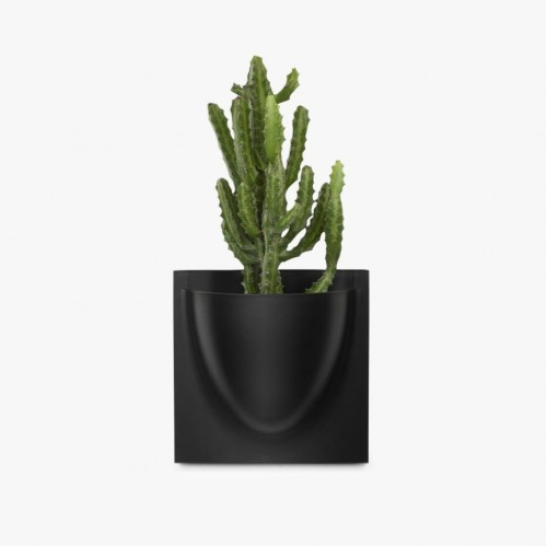 Black VertiPlants Mini Wall Pots - 4 Pack
