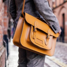 "Cambrai 15"" Handle Satchel"