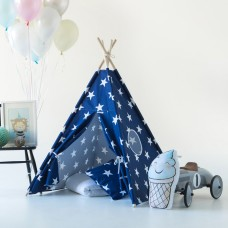 Blue Stars Teepee Set