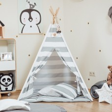 Monochrome Stripes Teepee Set