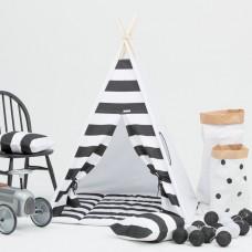 Monochrome Stripes Teepee Set
