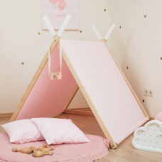 Pink A-Frame Playhouse Set