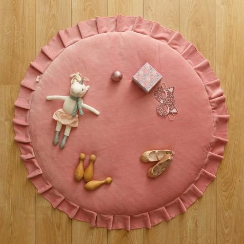 Pink Velvet Playmat