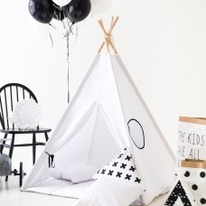White Teepee Set