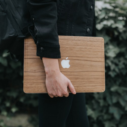 Macbook 15 Pro Retina EcoSkin - Wooden Cover
