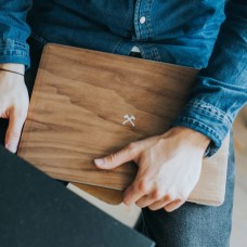 Macbook EcoSkin - Wooden Cover