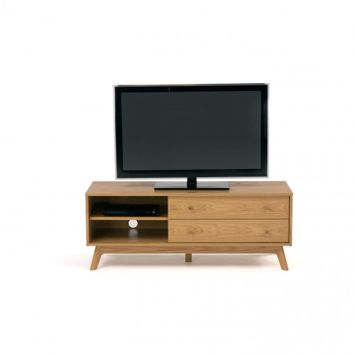 Kensal TV Unit - Large Oak