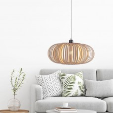 Wooden Strip Pendant Light
