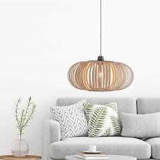 Wooden Strip Pendant Light