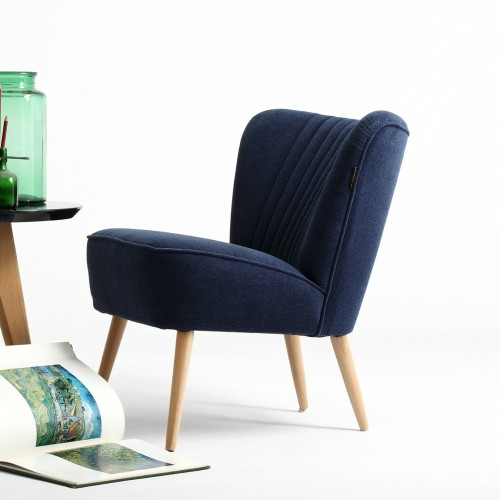 Blue Harry Cocktail Chair
