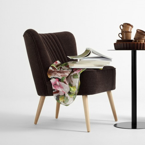 Dark Brown Harry Cocktail Chair