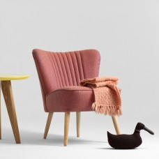Red Harry Cocktail Chair