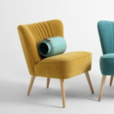 Mustard Yellow Harry Cocktail Chair