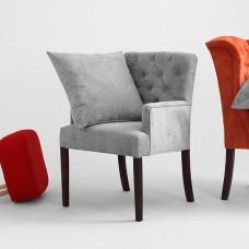 Grey Roger Armchair