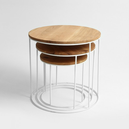 trios set of 3 side table