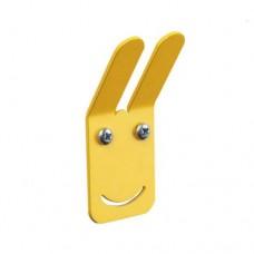 Emoji Wall Hook - Yellow